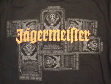 Jagermeister German Made Beer Liquor Deer Logo Soft Black T Shirt M