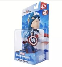 Disney Infinity Marvel Super Heroes Captain America Figure 2.0 Edition
