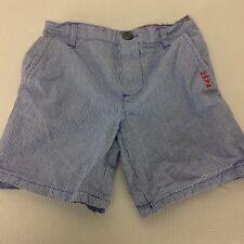 U.S. Polo Assn. Boy's Shorts Sz. 2T Blue Striped