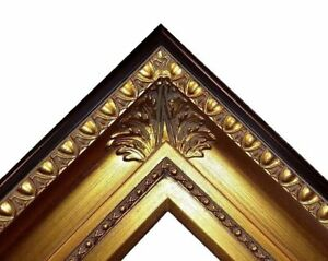 """4.25"""" fancy Gold Ornate kinkade Oil Painting Wood Picture Frame 650G 20""""x24"""""""