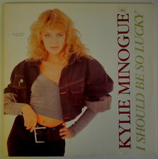 "★★12"" US**KYLIE MINOGUE - I SHOULD BE SO LUCKY (GEFFEN RECORDS '88 / VG+)★★20210"