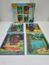 Ravensburger The Gruffalo 4 in 1 My First Jigsaw Puzzle Uesd VGC