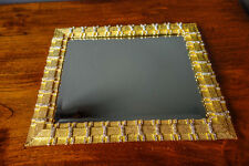 "Olivia Riegel Crystal ""Carlyle"" Vanity Tray New in Box"