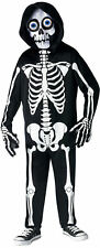 FRIGHT LIGHT SKELETON FADE IN/OUT BOYS COSTUME size medium fw130852