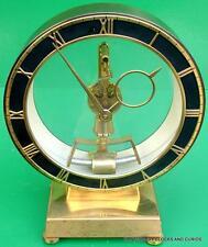 KIENINGER & OBERFELL WEST GERMAN ELECTROMAGNETIC RETRO MANTLE CLOCK 1960s