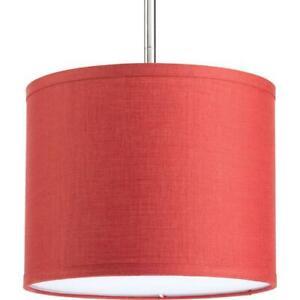 Progress Lighting Markor Collection Crimson Fabric Accessory Shade  P8828-39