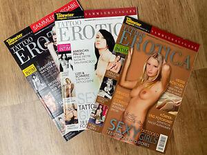Tätowier Magazine Sonderausgabe TATTOO EROTICA Sammlerausgabe