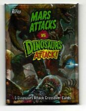 MARS ATTACKS OCCUPATION TOPPS *MARS ATTACKS VS DINOSAURS ATTACK HOT PACK!!!