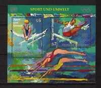 10117) UNITED NATIONS (Vienna) 1996 Sport Olympic Gymnastics... S/S MNH**