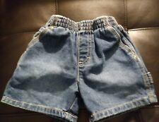 Boys Koala Kids size 6/9 months Denim Jean shorts pull on