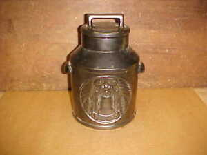 McCoy Milk Can Liberty Bell/ 76 Decorated Cookie Jar-Nice