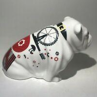 Rare , Royal Doulton Alfie Bone China  Bulldog Figurine, DD 001