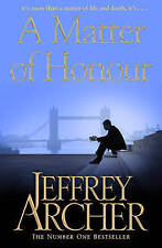 A Matter of Honour by Jeffrey Archer (Paperback) New Book