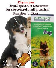 Zipyran plus Broad Spectrum Dewormer -control  all intestinal Parasites of Dogs
