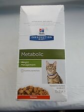 Hill's Prescription Diet Cat Feline Metabolic gestion du poids 12 Sachets