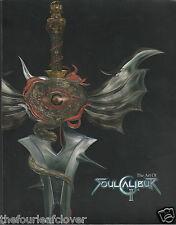 The Art of Soul Calibur II  Brady Games 2003 Characters Weapons Arenas