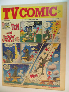 TV PLUS COMIC UK SECTION #934 - 16 PAGES -TOM & JERRY, BUGS BUNNY, ETC ! - 1969