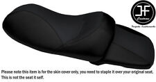 BLACK VINYL CUSTOM FOR YAMAHA YP 400 MAJESTY 04-13 REAR FRONT SEAT COVER
