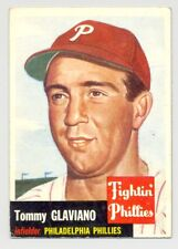 1953 Topps #140 TOMMY GLAVIANO -- Philadelphia Phillies -- Excellent-Mint