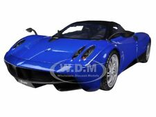 PAGANI HUAYRA BLUE 1/18 DIECAST CAR MODEL BY MOTORMAX 79160