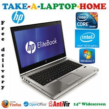 Comes Boxed - HP EliteBook Gaming Laptop - Core i5 2.8GHz - Intel HD 4000 - 8Gb