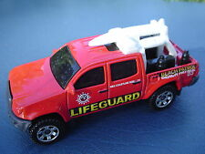 Toyota Tacoma LIFE GUARD Beach Patrol. RED. Loose, Fresh out of box.