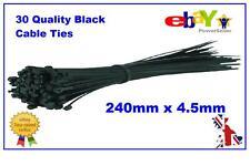100x Cable de nylon azul fuerte correa de Cremallera Lazos de alambre envuelve de alta calidad Reino Unido