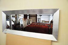 Modern Design Spiegel Silber Chromstahl ca. 138 x 58 cm Kristall ELEGANT MODISCH