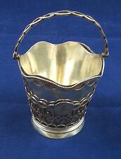 George III Sterling Silver Cream Pail London 1771