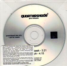 (BY811) Quartershade, Hide and Seek - 2006 DJ CD