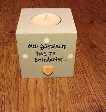 Shabby Personalised Chic Best Special Friend Gift Any Names You Want Candle.