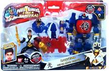 POWER RANGERS SAMURAI GOLD LIGHT RANGER AND LIGHTZORD NEW MOC