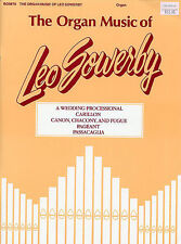 The Organ Music Of Leo Sowerby Learn to Play Organist Music Book