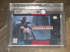 Nosferatu (Super Nintendo, 1994) NEW SEALED MINT VGA 85 RARE