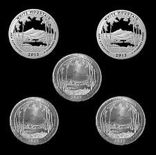 2013 P+D+S+S White Mountain National Park Silver Clad & PDS Mint Roll Proof Set