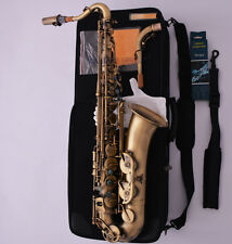 Professional C Melody Saxophone Antique Sax Abalone shell High F# Free Shipping