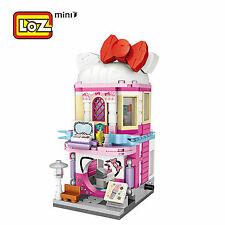 Loz Street Mini Cosmetic store Kids Puzzle Mini Block Brick Toy w/Box