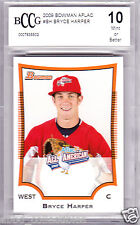 BRYCE HARPER Nationals 2009 Bowman AFLAC rookie BGS BCCG 10 graded MINT NL MVP!!