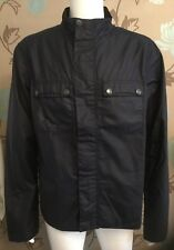 """Barbour """"lock"""" Navy Waxed Jacket Size XL"""