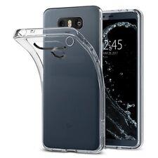 Cover LG G6 Spigen Clear Ultra Sottile Silicone Gel Liquid Crystal Estremam