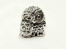 Genuine Sterling Silver PANDORA SPARKLING CHARMING OWL Charm S925 ALE 791966