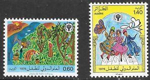 Algeria (1979) - Scott # 631 - 632,   MNH