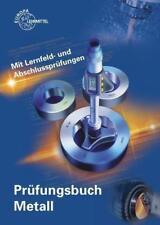 Prüfungsbuch Metall von Reinhard Vetter, Ullrich Kinz, Eckhard Ignatowitz und...