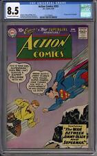 Action Comics #253 CGC 8.5 (OW-W) 2nd Appearance of Supergirl