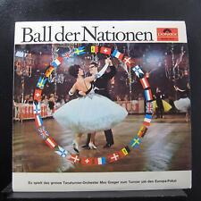 Max Greger Und Sein Orchester - Ball Der Nationen LP Mint- 46 841 Vinyl Record