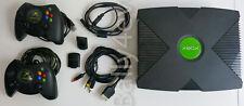 Microsoft Xbox 2002 -100% un-modded PAL + 2 Duke controller + Memory Card
