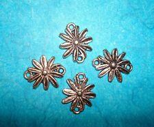 Jewelry Findings Connectors Bracelet Making Dangle Earrings Charm Lot of 4 Charm