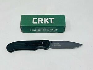 CRKT Ignitor Folding Knife, Assisted Opening Fine Edge, 6860