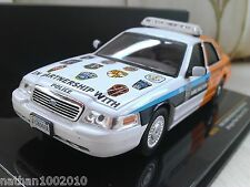 2012 Ford Crown Victoria Police Interceptor Arlington - Diecast Car 1/43 IXO