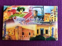 TESSERA FILATELICA 2002 KIT IL TURISMO  COMPLETO DA 4 TESSERE